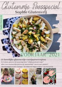 Voorbeeld cover glossy magazine Sophie Glutenvrij